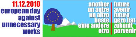 APPELLO EUROPEO – Giornata Europea contro le Grandi Opere Inutili